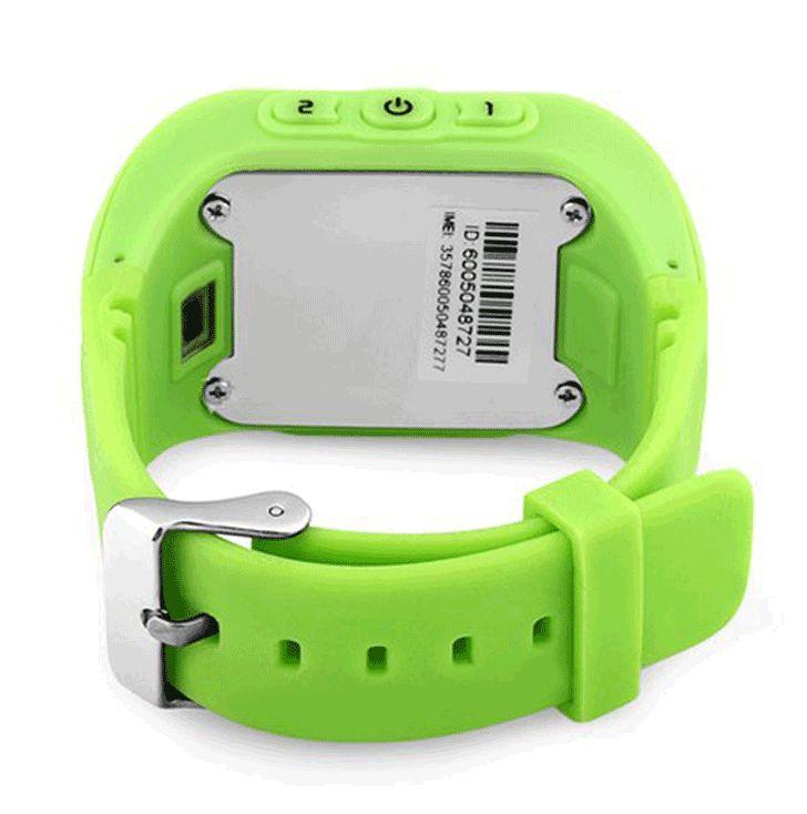 Умные детские часы с GPS Smart Baby Watch Q50 Green