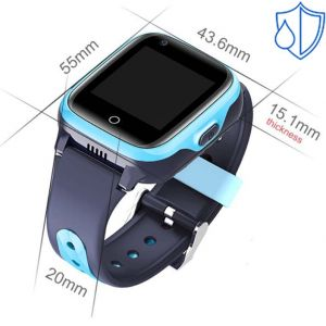 Smart Baby Watch KT15 Голубые