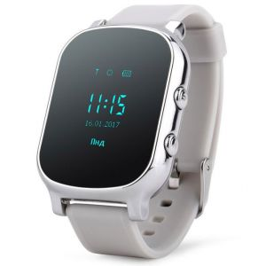 Smart GPS Watch T58 Серебристые